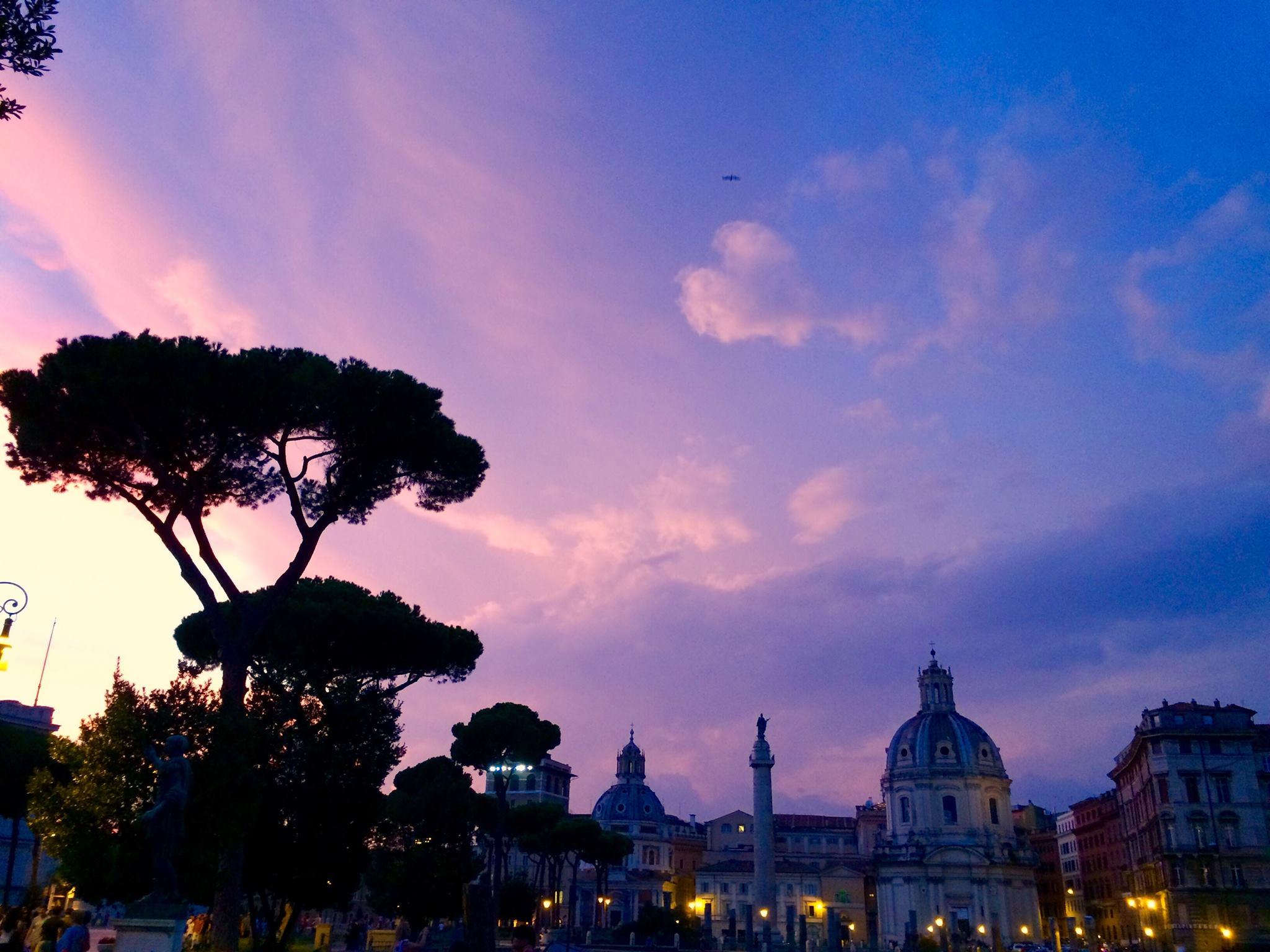 Piazza Venezia Rzym Włochy