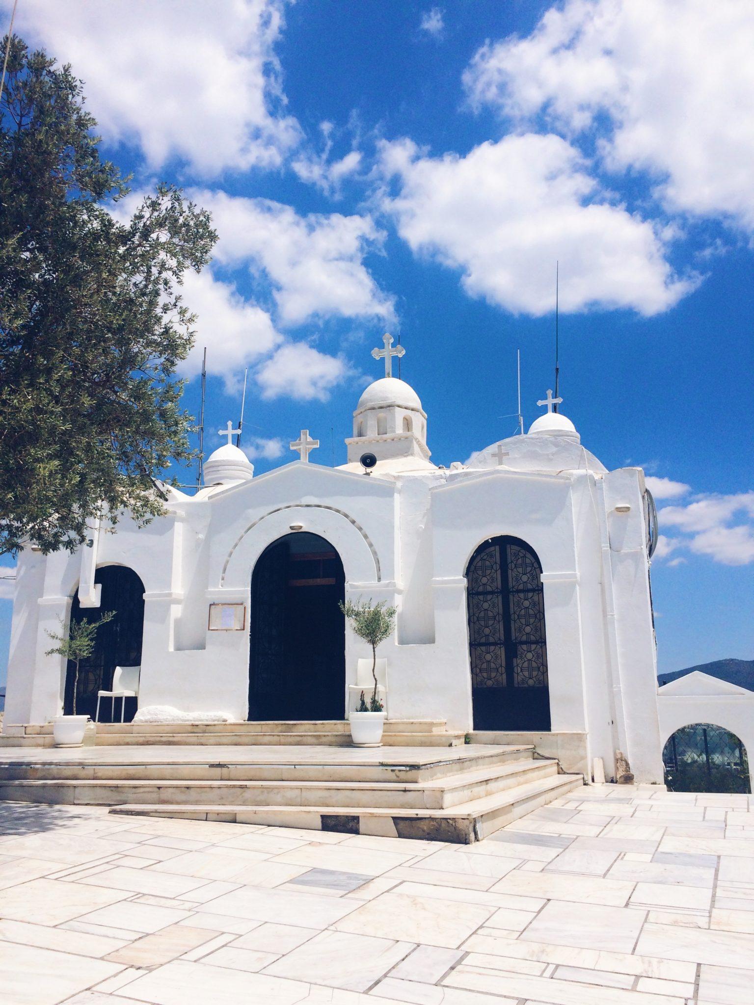 Kaplica św. Jerzego, Ateny, wzgórze Likavitos