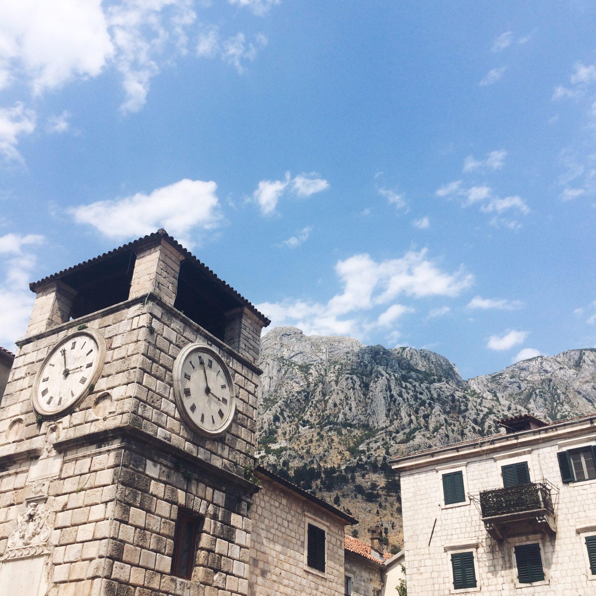 Kotor, Wieża Zegarowa